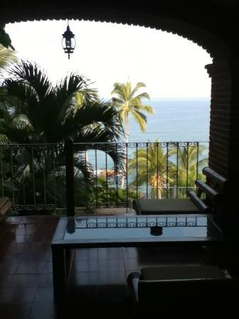 Playa Conchas Chinas Hotel: lobby view