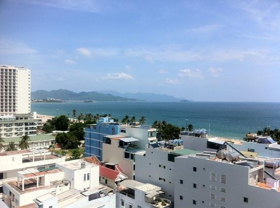 Nice Hotel: udsigt fra altan
