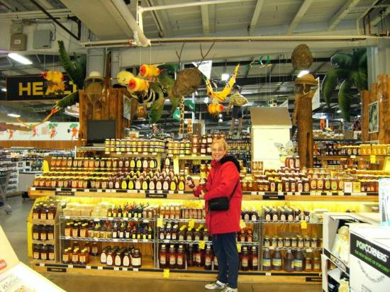 Jungle Jim's International Market: There is even MORE honey selections on the other side of this display