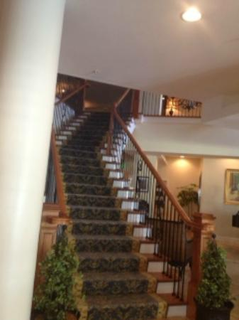 Hotel Rehoboth: Nice stair case