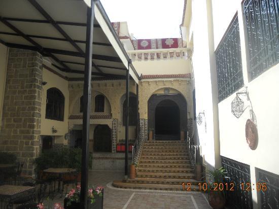 Entrance to Palais Terrab