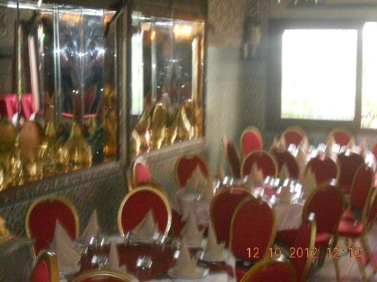 Palais Terrab : Inside the Restaurant