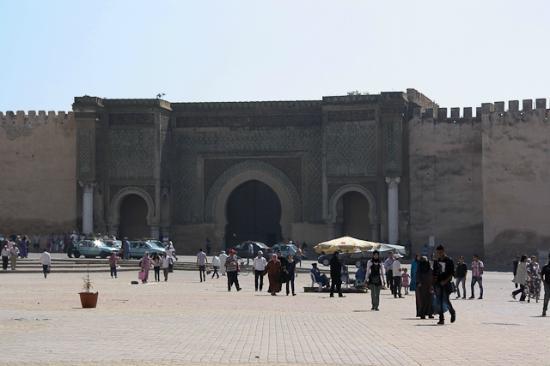 Medina de Mequinez: bab Mansour