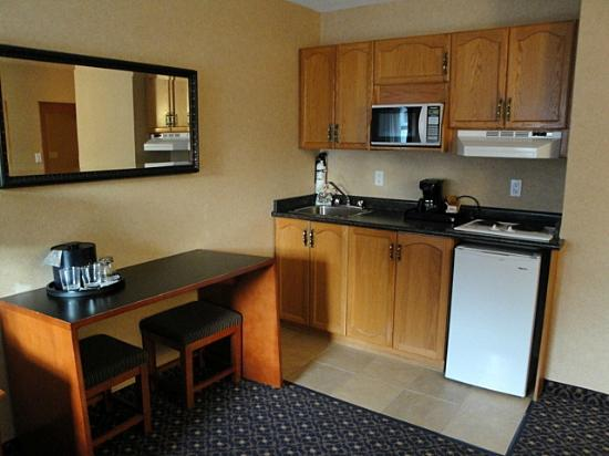 BEST WESTERN PLUS Regency Inn & Conference Centre: kitchenette in the room