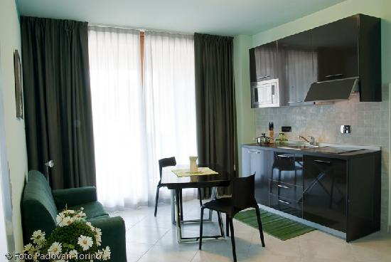 Green Della Reggia: soggiorno