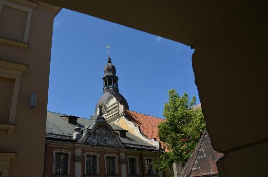 هوتل نيبورجز: View from our room