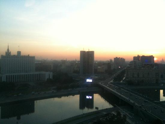 Radisson Royal Hotel Moscow : Moscow dawn