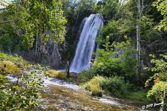 Spearfish Canyon Lodge: Spearfish Falls