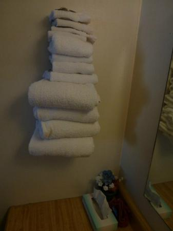 Willow Tree Inn: Towels