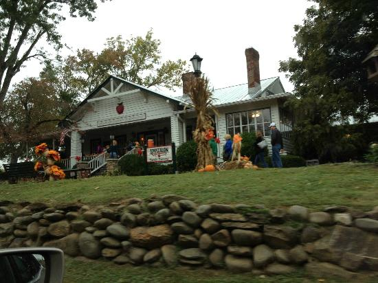 The Apple Barn Cider Mill And General Store: Loved the decorations!