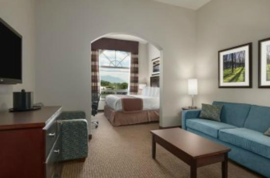 Ramada Creston: King suite