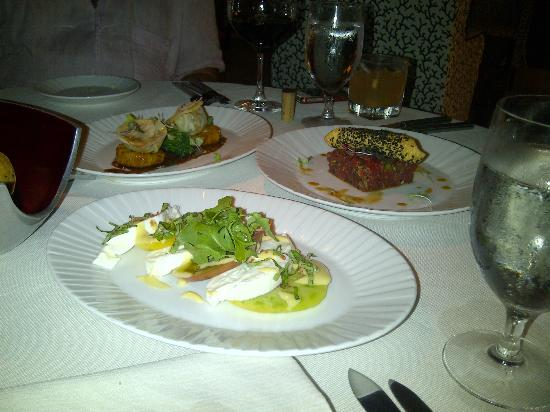 Coral Grill at Four Seasons Nevis: Appetizers
