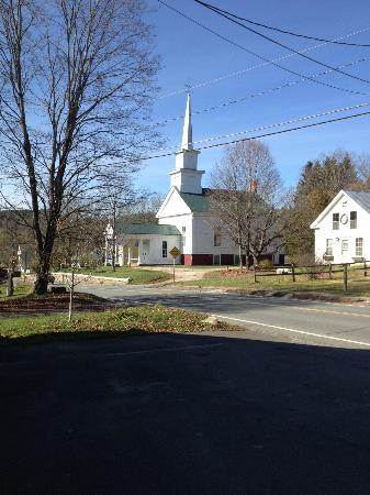 Village Inn of East Burke: Across the street