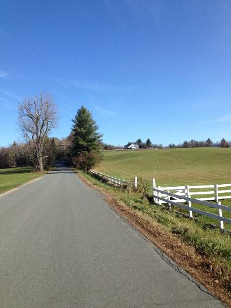 Village Inn of East Burke: On the climb up to the trails
