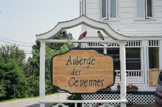 ‪‪Auberge des Cevennes‬: Sign outside
