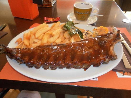 Canto: Ribs are so tender and the sauce mmmmm