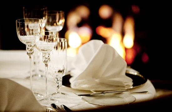 Gourmet Club Restaurant set up