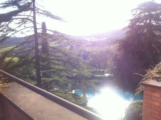 Villa La Grotta : our balcony view