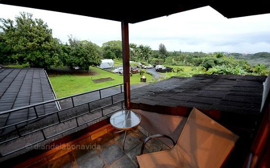 The Inn at Kulaniapia Falls: Vistas des de la habitació Prince Kalakua
