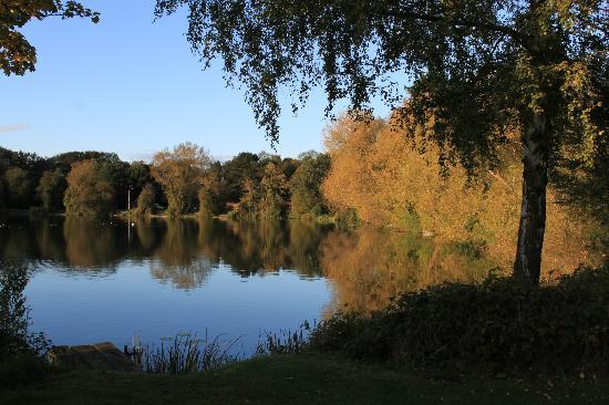 York Lakeside Lodges: The Lakeside walk