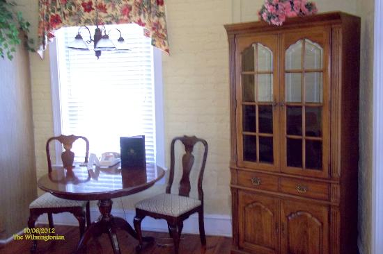 The Wilmingtonian: Dining area