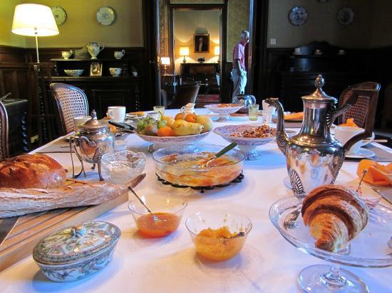 Manoir de Lanroz : fantastic breakfast