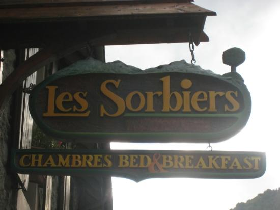 Hotel Les Sorbiers : Bed & Breakfast