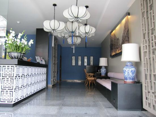 Sino Inn Phuket: บริเวณล๊อบบี้โรงแรมครับ