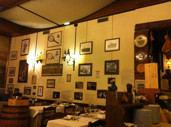 Taverna Trilussa Rome Trastevere Restaurant Reviews