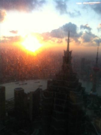 Cloud 9 (Grand Hyatt Shanghai) : Cloud 9 - Sunset