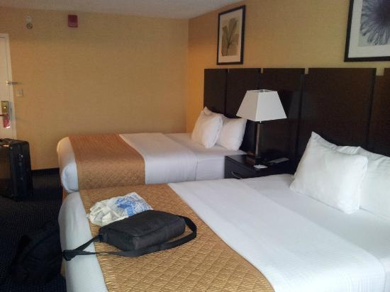 La Quinta Inn & Suites Manchester: Doppel Bett