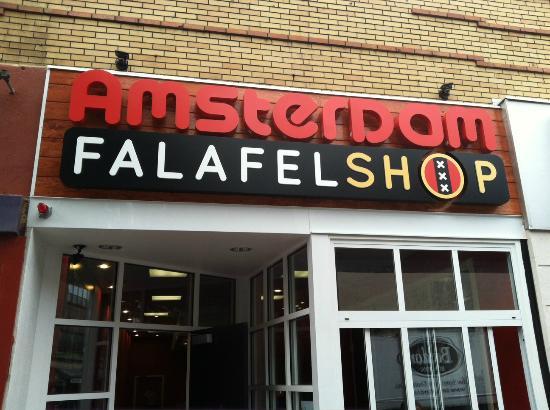 Photo of Fast Food Restaurant Amsterdam Falafel Shop at 248 Elm St, Somerville, MA 02144, United States