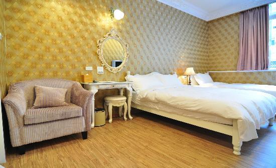 Mirador Hotel Kaosiung : 豪華三人房