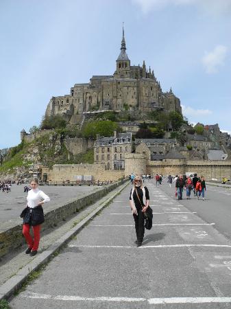 Hotel Mercure Mont Saint Michel: Вид
