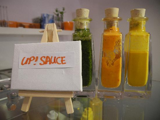 UP! Grade Your Food: UP! Sauces