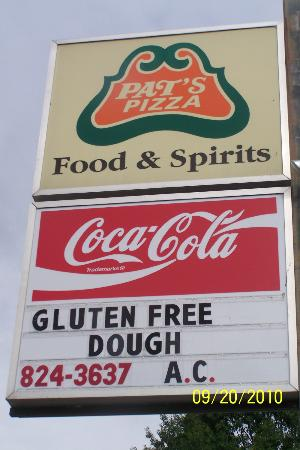 Pat's Pizza: Located across From Rite Aid on Route 2 Bethel