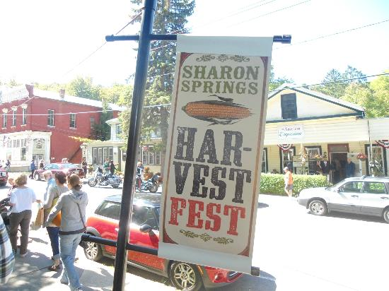 New York House Bed & Breakfast: The Fall Harvest Festival bring over 10,00 visitors to Sharon Springs