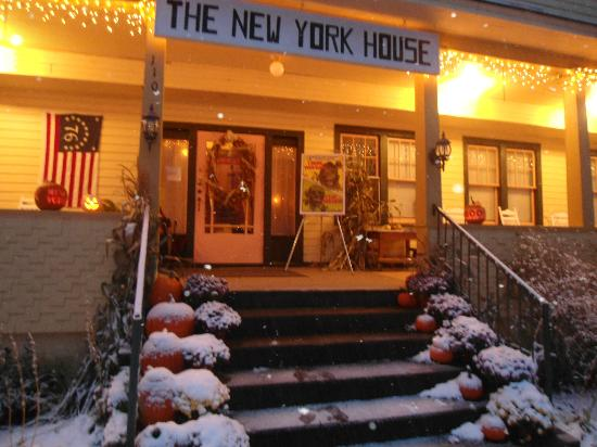 "New York House Bed & Breakfast: Halloween always features a viewing of "" I Drink Your Blood"""