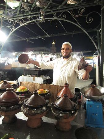 Riad Assakina: Supper's ready