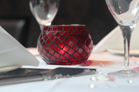 Table setting picture of asiana indian restaurant for Asiana indian cuisine