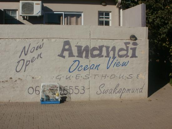 Anandi Guesthouse: Anandi gibt es auch in Swakopmund