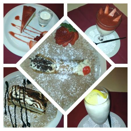 Romeo By The Sea: Romeo's desserts