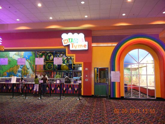 The Orleans Hotel & Casino: Kiddie area