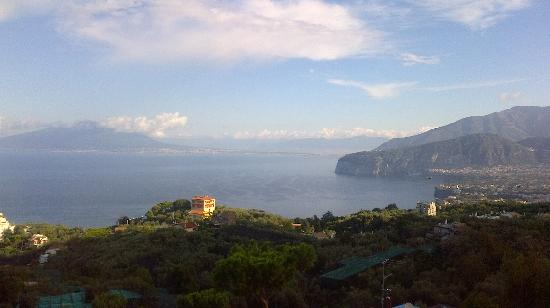 Il Nido Hotel Sorrento: View from breakfast room