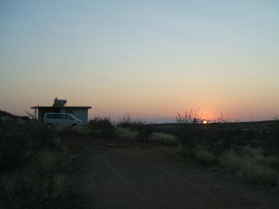Capricorn Rest Camp: Sonnenaufgang