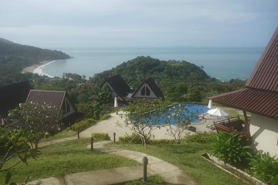 Baan KanTiang See Villa Resort (2 bedroom villas): the view