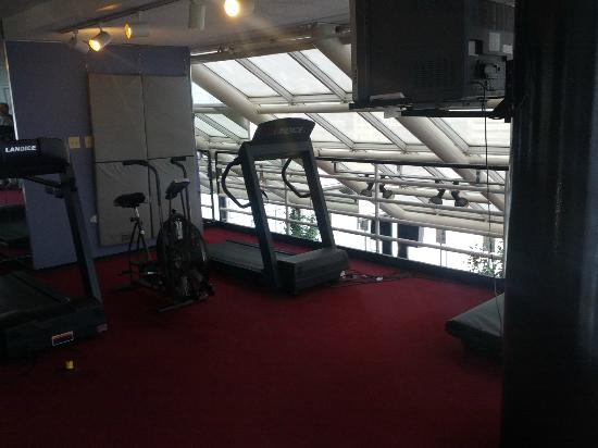 Garfield Suites Hotel: 2nd floor of the skyview fitness