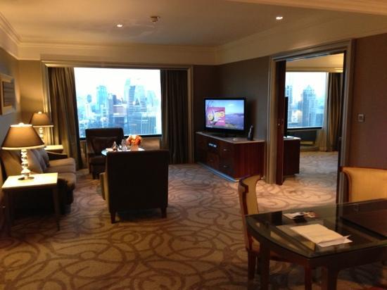 InterContinental Bangkok: Suite on 33rd Floor