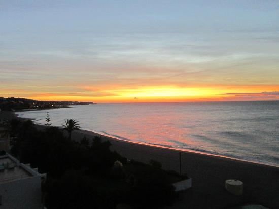 VIK Gran Hotel Costa del Sol: Sunrise from balcony