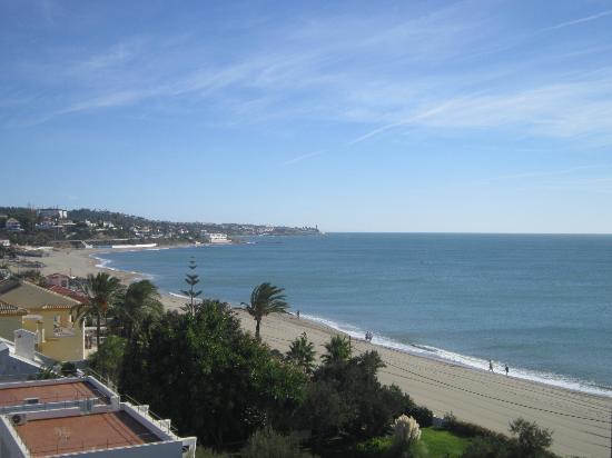 VIK Gran hotel Costa del Sol: View from balcony (Playa la Butibamba, La Cala)